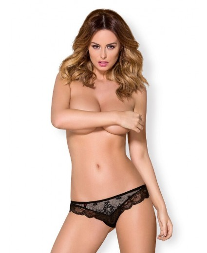 853-THO-1 THONG BLACK