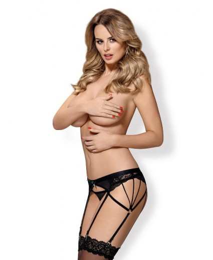 854-GAR-1 GARTER BELT & THONG
