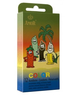 AMOR Color 12 pcs pack