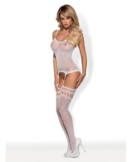 BODYSTOCKING F214 BLANCO