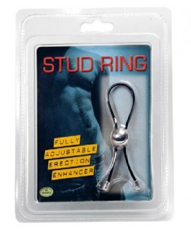 Stud Ring Black
