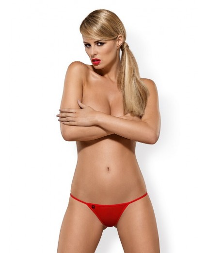 LUIZA THONG RED