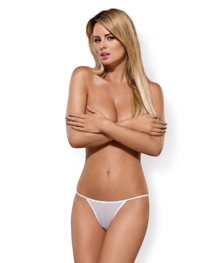 LUIZA THONG WHITE