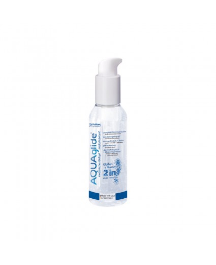 AQUAGLIDE 2 IN 1 LUBRIFICANT + MASSAGE 125ML