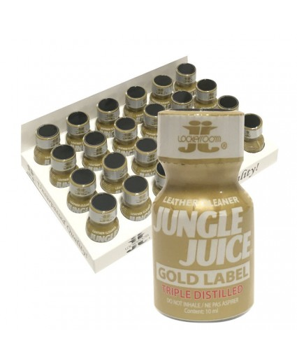 JUNGLE JUICE GOLD LABEL TRIPLE DISTILLED 10ML - Boite 24 Flacons