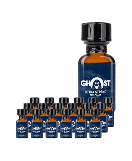 GHOST ULTRA STRONG 24ML - Box 18 Bottles
