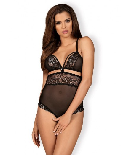 838-TED-1 BODY OPENCROTCH PRETO