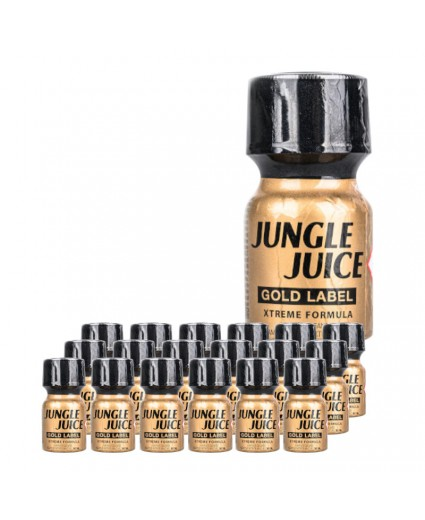 JUNGLE JUICE GOLD LABEL 10ML - Box 18 Bottles