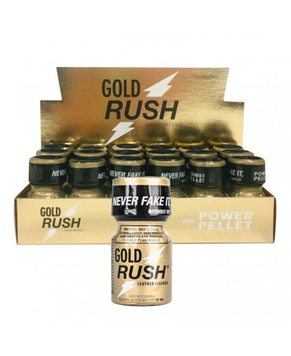 Gold Rush PWD 10ml - Caixa 18 Frascos