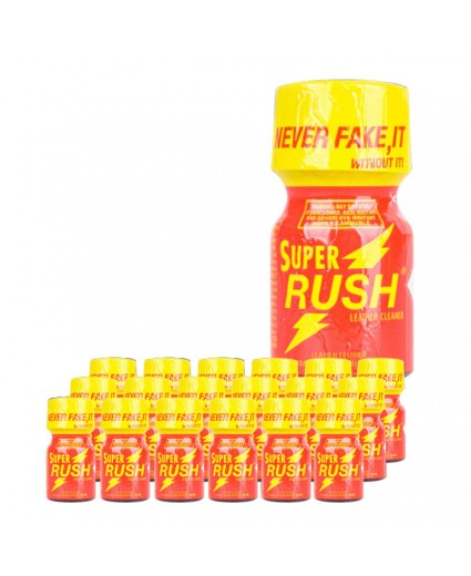 Super Rush 10ml - Caixa 18 Frascos