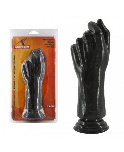 Consolador Fisting Power Fist Negro