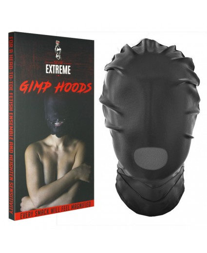 Máscara Completa con Orificio para la Boca - Negra