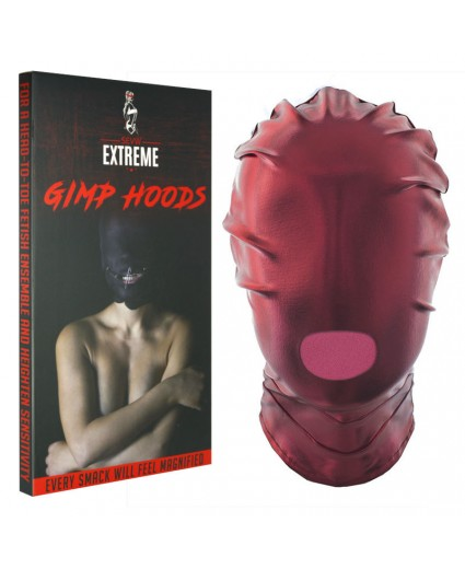 Full Mask with Mouth Hole - Red