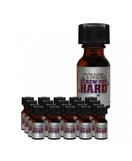 Screw You Hard 15ml - Boite 20 Flacons