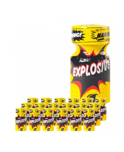 Explosive 9ml - Caixa 18 Frascos