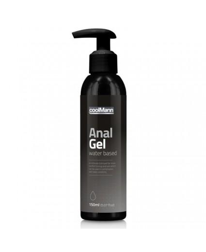 Lubrificante Gel Anal CoolMann 150ml
