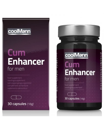 CoolMann Cum Enhancer 30 caps