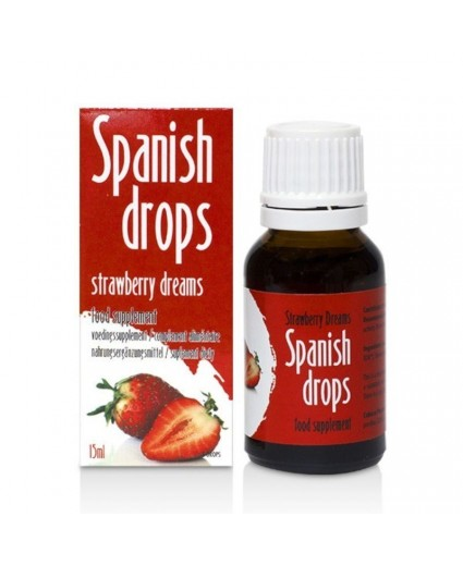 Gotas Spanish Drops Morango 15ml