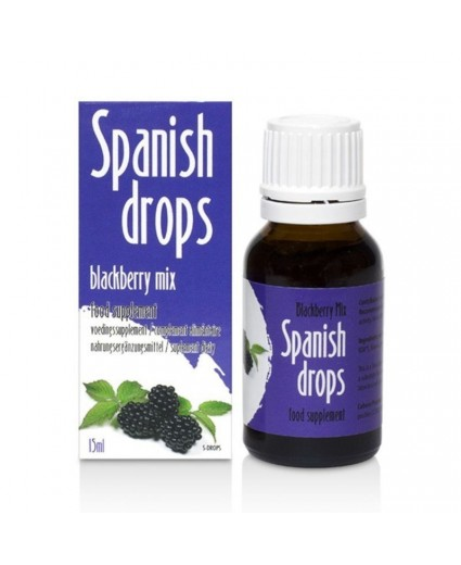 Spanish Drops Blackberry Mix 15ml