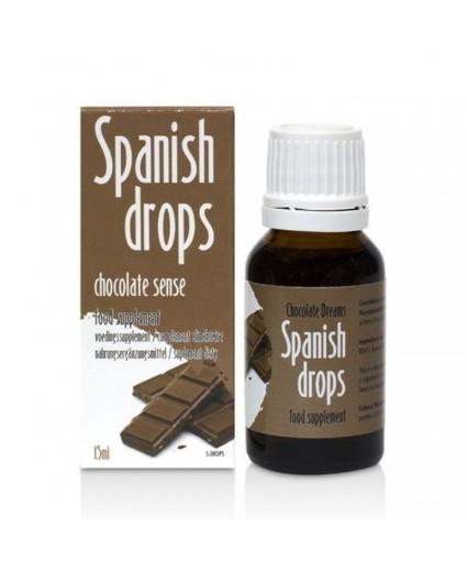 Gotas Spanish Drops Chocolate Sense 15ml