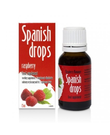 Gouttes Spanish Drops Framboise 15ml