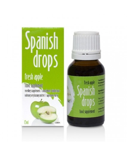 Spanish Drops Fresh Apple 15ml