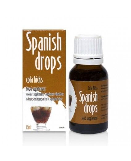 Gotas Spanish Drops Cola Kicks 15ml