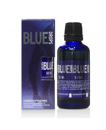 Gotas Azul Afrodisiacas 50ml