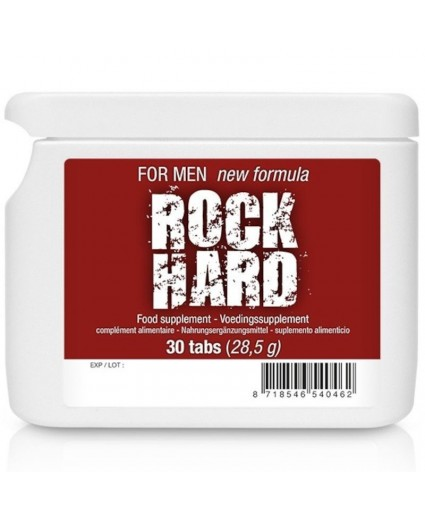 Rock Hard 30 Tabs Flatpack