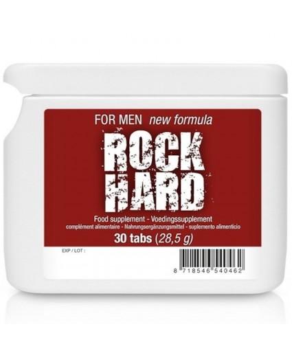 Rock Hard Enhancer pour Homme 30 capsules Flatpack