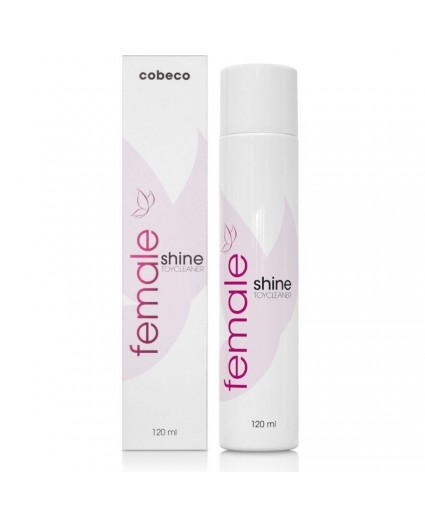 Spray de Limpeza Female Cobeco Shine Toy Cleaner 120ml