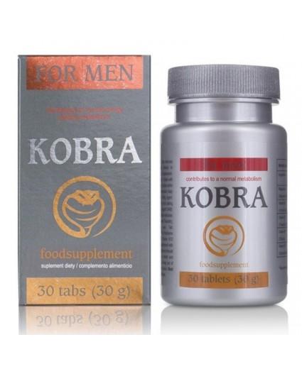 Estimulante masculino Kobra 30 Tabs