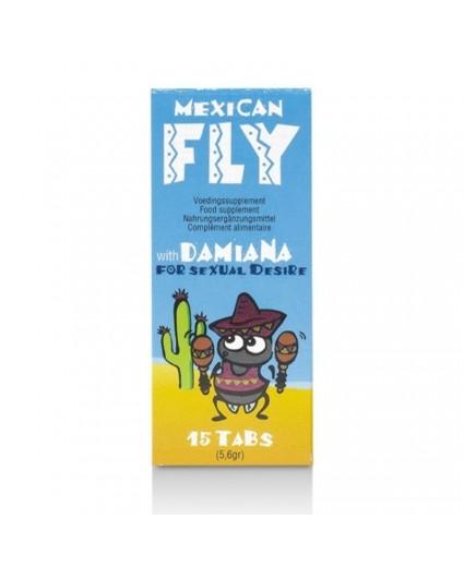 Afrodisíaco Mexican Fly 15 Tabs
