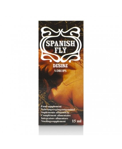 Gotas Eróticas Spanish Fly Desire 15ml