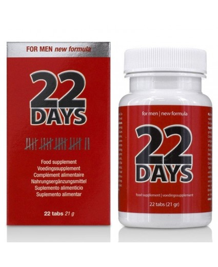 Aumento do Pénis 22 Days Penis Extension 22 Caps