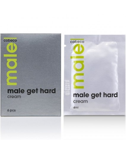 Male Cobeco Get Hard Sachets 6x4ml