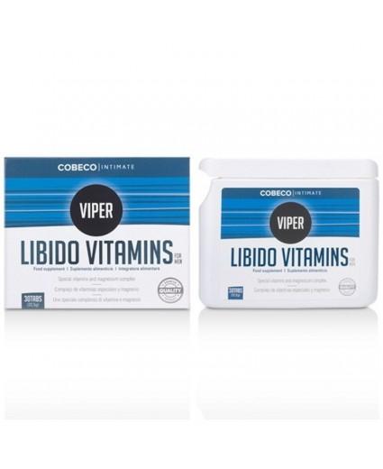 Vitamines pour la Libido Cobeco Intimate Viper 30 Caps