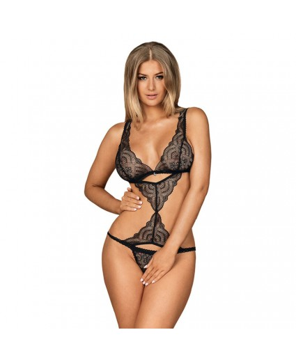 Firella Teddy Body Preto