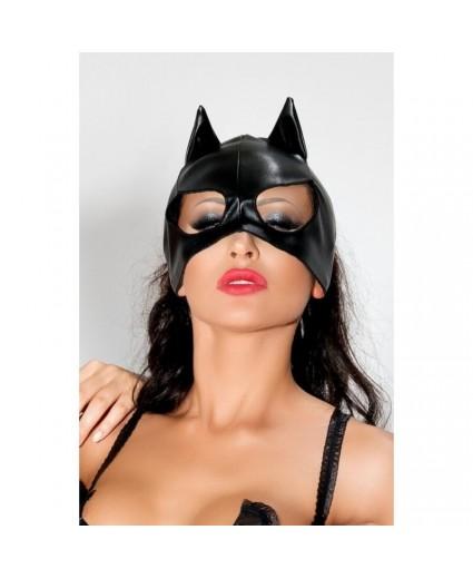 Máscara Gato BDSM MK 02 Preto