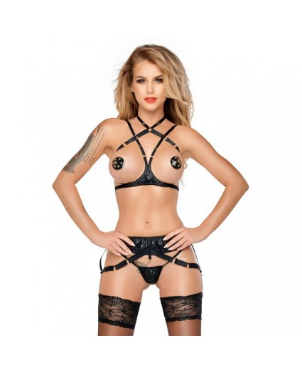 Ruby Ensemble de Lingerie Noir