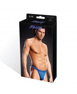BLUE LINE Performance Microfiber Thong blue S/M
