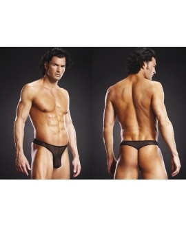 BLUE LINE G-String black S/M