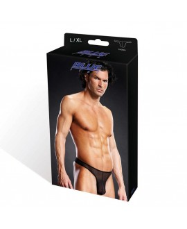 BLUE LINE Pro-Mesh Thong black L/ XL