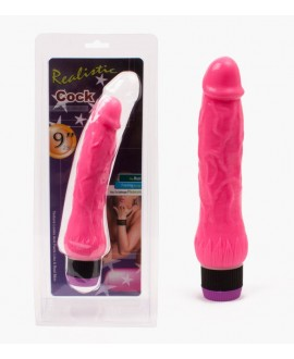 Realistic Cock Pink 24 cm