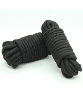 COTTON ROPE 10M – BLACK