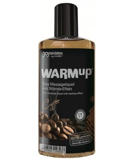 ÓLEO DE MASSAGEM WARMUP CAFÉ 150ML