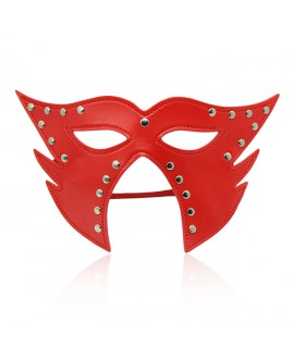 CATWOMAN FAUX LEATHER MASK – RED