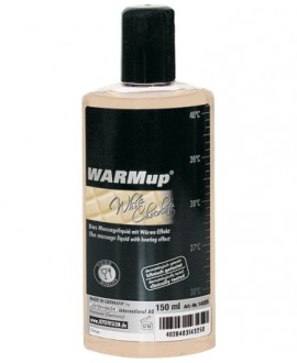 ÓLEO DE MASSAGEM WARMUP CHOCOLATE BRANCO 150ML