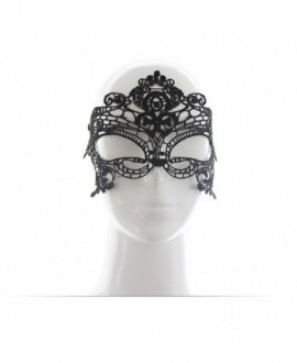 SEXY LACE MASQUERADE MASK – BLACK