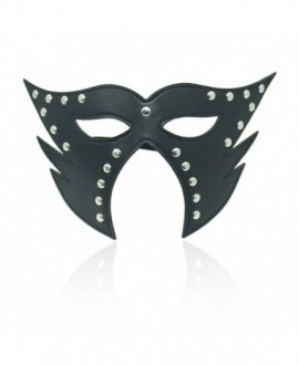 CATWOMAN FAUX LEATHER MASK – BLACK